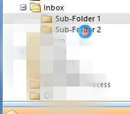select-inbox-sub-folders-and-drag-to-received-folder