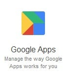 manage-google-apps