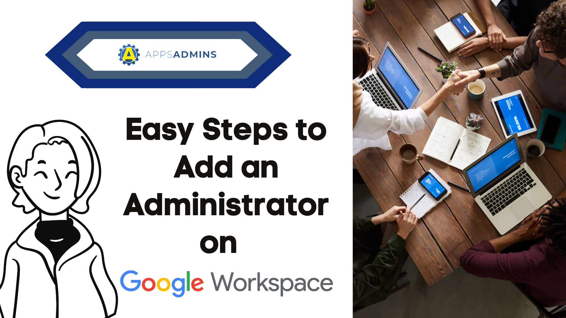 How to Add an Administrator on your Google Workspace Account