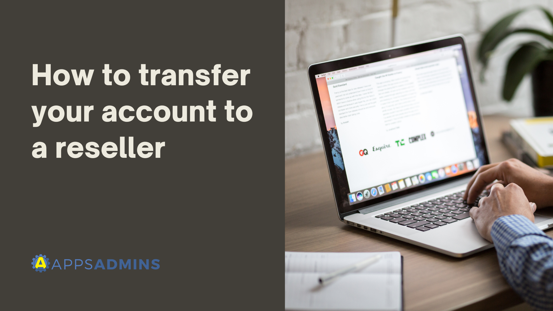 How to transfer your account to a reseller-1
