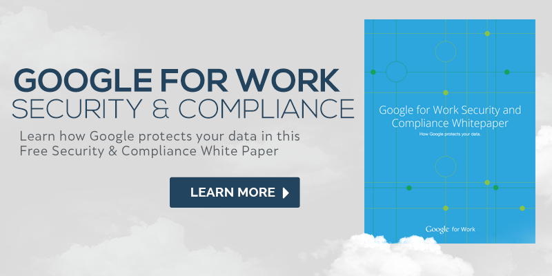 google apps security and compliance
