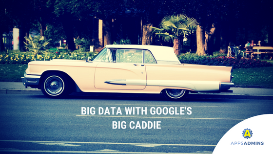 Big Data with Google's Big Caddie