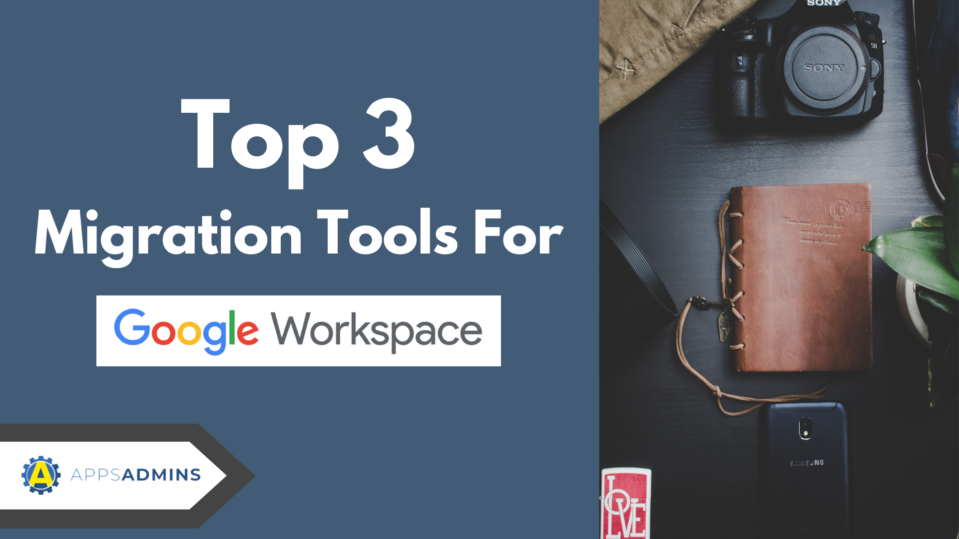 Top 3 Migration Tools for Office 365/Exchange to Google Workspace.