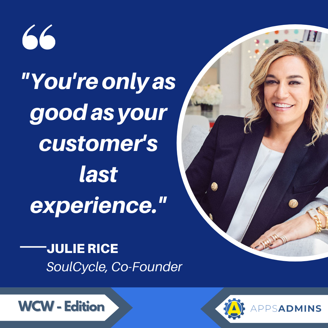 WCW Lady Boss Weekly Feature: Julie Rice