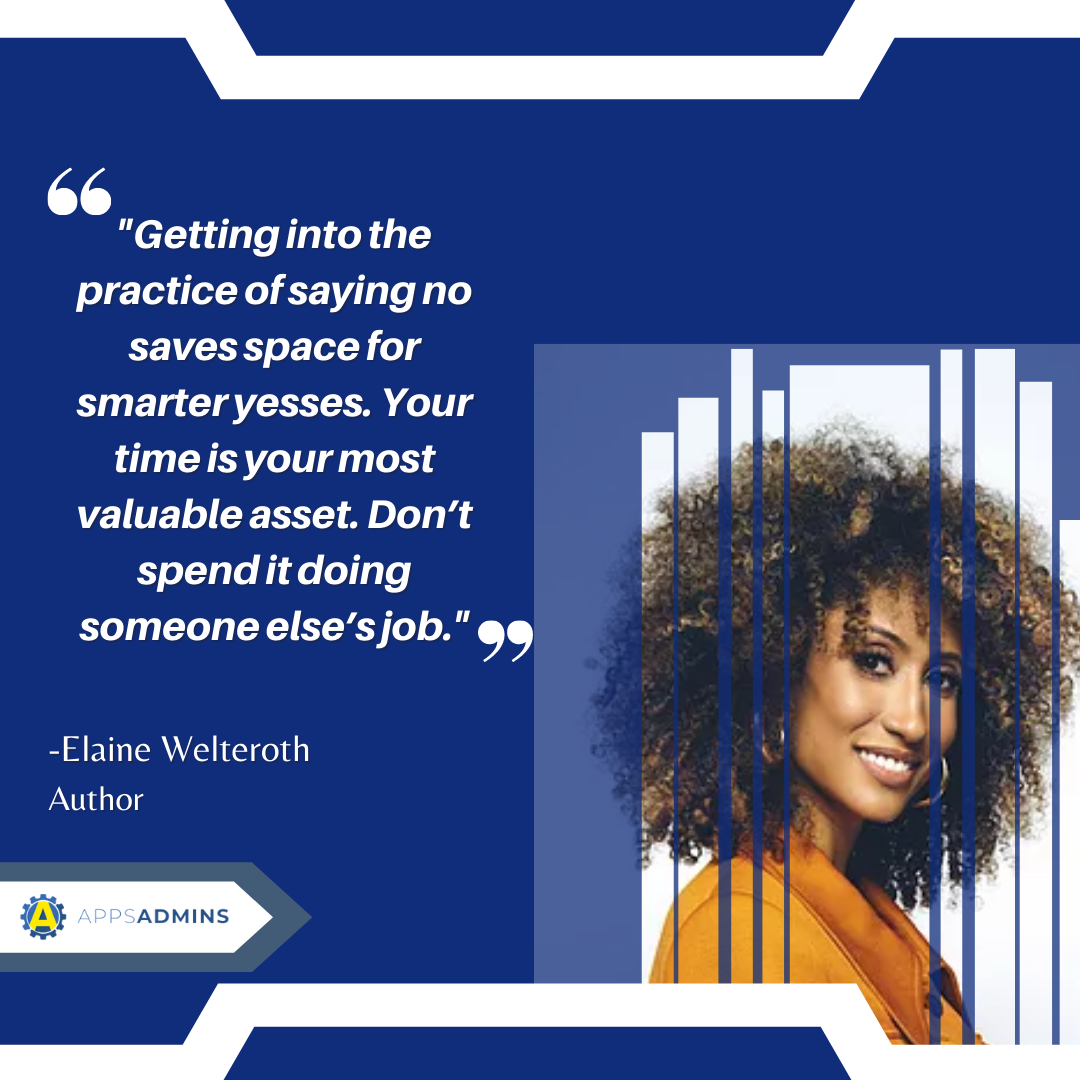 WCW Lady Boss Weekly Feature: Elaine Welteroth