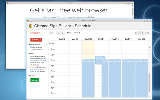 Here's How Easy It is to Create a Digital Sign with Chrome Sign Builder