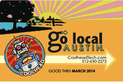Go Local Austin Card - Coolhead Tech Edition